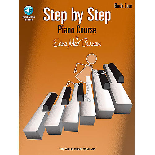 Willis Music Step By Step Piano Course Book 4 Book/CD-thumbnail