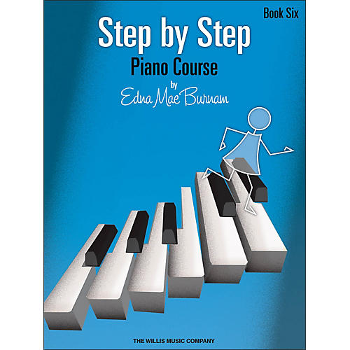 Willis Music Step By Step Piano Course Book 6-thumbnail