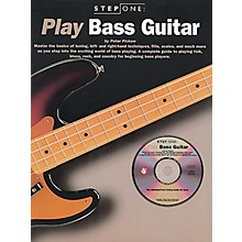 Music Sales Step One: Play Bass Guitar Music Sales America Series Softcover with CD Written by Peter Pickow