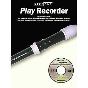 Music Sales Step One: Play Recorder Book/CD