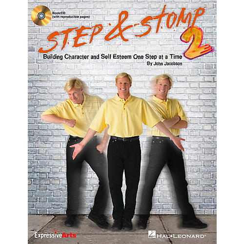 Hal Leonard Step & Stomp 2 - Building Character and Self Esteem One Step at a Time Classroom Kit-thumbnail