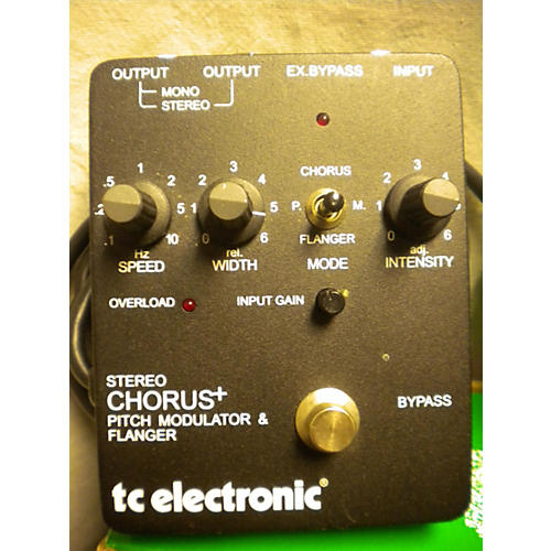 TC Electronic Stereo Chorus Effect Pedal