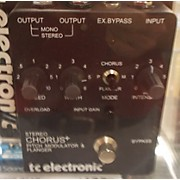 TC Electronic Stereo Chorus+ Effect Pedal