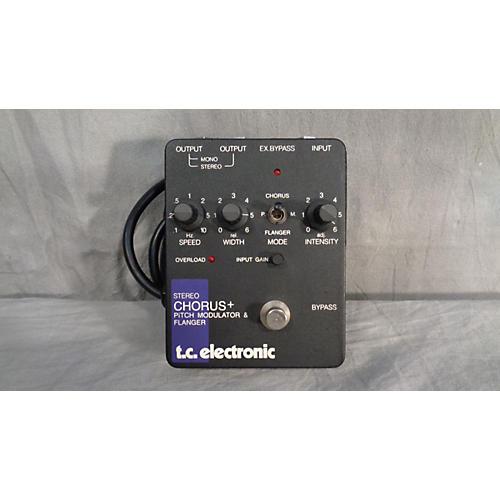 TC Electronic Stereo Chorus + Pitch Modulator & Flanger Effect Pedal-thumbnail
