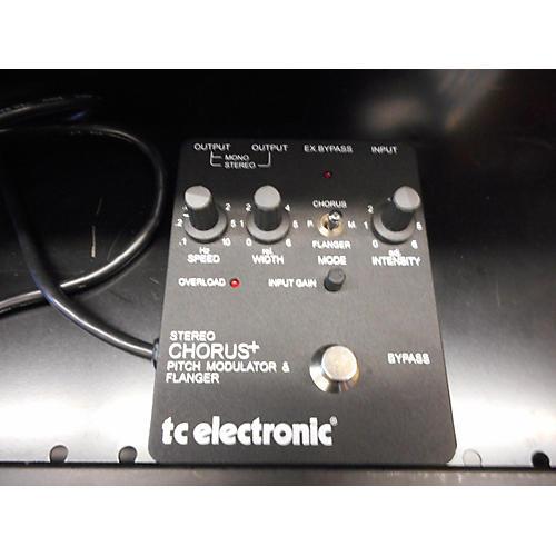 TC Electronic Stereo Chorus+ Pitch Modulator & Flanger Effect Processor
