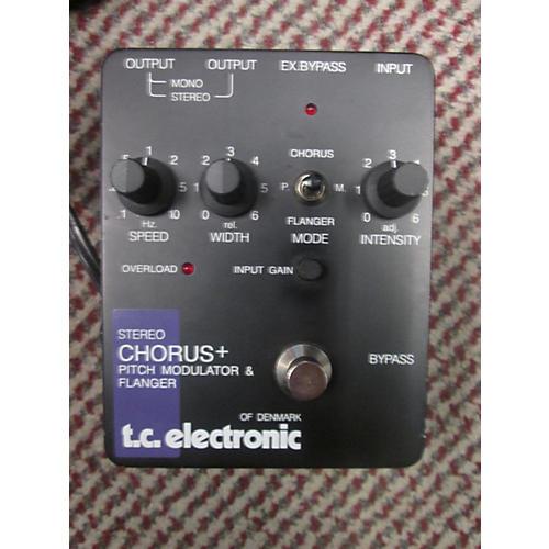 TC Electronic Stereo Chorus Plus Effect Pedal Black