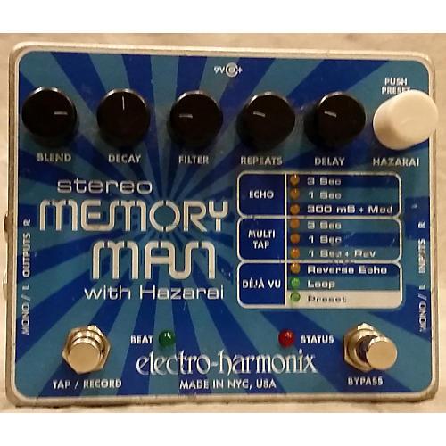Electro-Harmonix Stereo Memory Man Hazarai Looper Effect Pedal