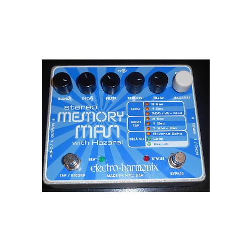 Electro-Harmonix Stereo Memory Man Hazarai Looper Effect Pedal-thumbnail