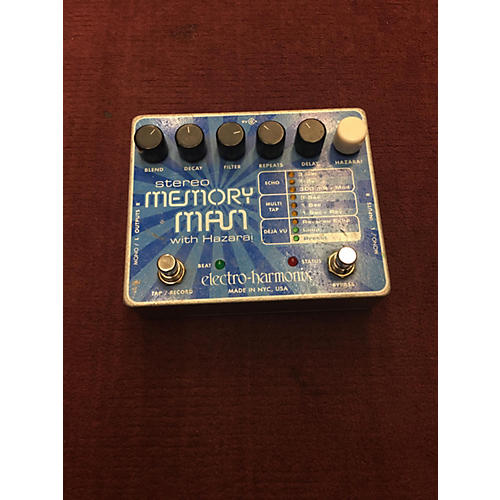 used electro harmonix stereo memory man hazarai looper effect pedal guitar center. Black Bedroom Furniture Sets. Home Design Ideas