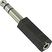 "Hosa Stereo Mini Female-Stereo 1/4"" Male Adapter"