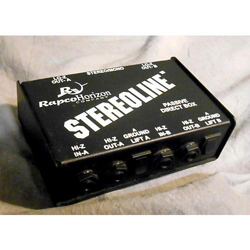 Rapco Stereoline Direct Box
