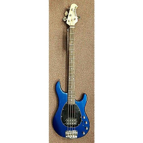 Ernie Ball Music Man Sterling 4 String Electric Bass Guitar Blue