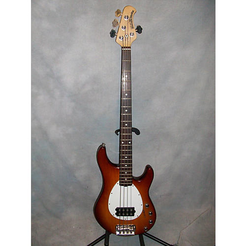 Ernie Ball Music Man Sterling 4 String USA Electric Bass Guitar Honey Burst