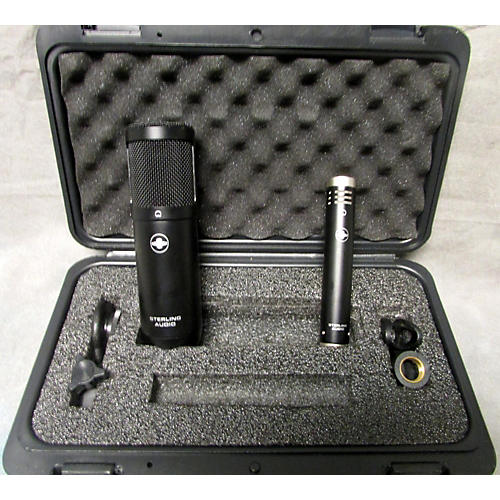 Sterling Audio Sterling Audio SP50/30 Studio Condenser Microphone Pack Recording Microphone Pack-thumbnail