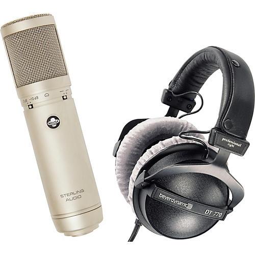 Sterling Audio Sterling Audio ST66 Tube Mic & Beyerdynamic DT770 Headphone Pack-thumbnail