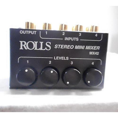 Rolls Stero Mini Mixer Mx42 Line Mixer