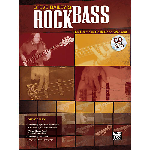 Alfred Steve Bailey - Rock Bass Book with CD-thumbnail
