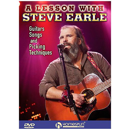Homespun Steve Earle - Guitars, Songs, Picking Techniques And Arrangements DVD-thumbnail