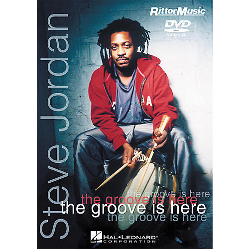 Hal Leonard Steve Jordan - The Groove is Here (DVD)-thumbnail