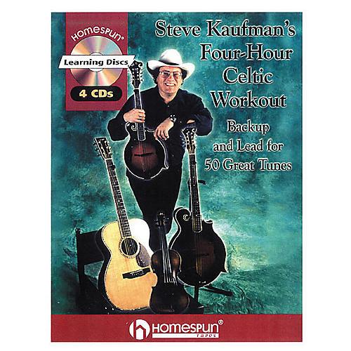 Homespun Steve Kaufman's Four-Hour Celtic Workout (Book/CD)-thumbnail