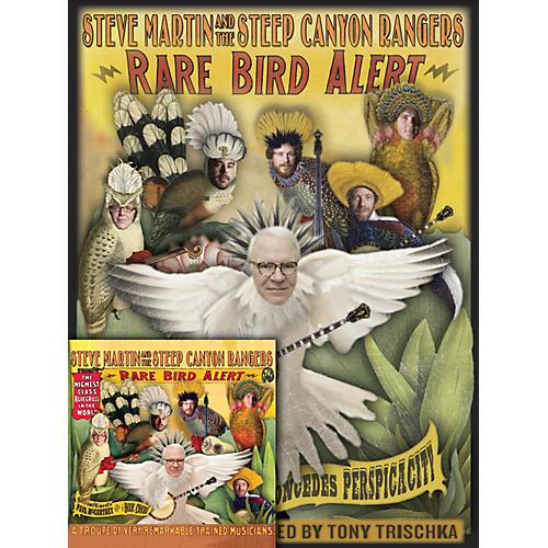 Homespun Steve Martin Rare Bird Alert Book/CD Bundle-thumbnail