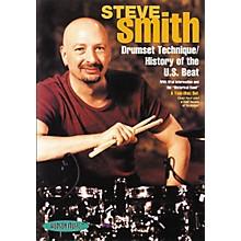Hudson Music Steve Smith: Drumset Technique/History of the U.S. Beat (2-DVD Set)