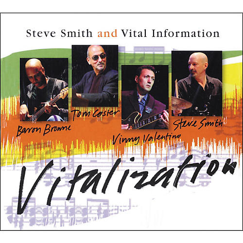 Hudson Music Steve Smith and Vital Information - Vitalization CD-thumbnail