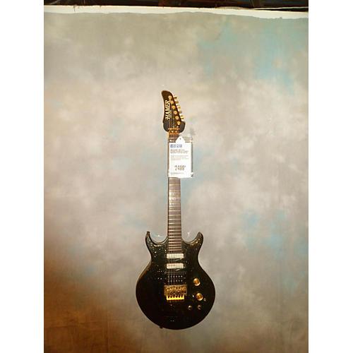 Hamer Steve Stevens Custom Solid Body Electric Guitar Blk Sparkle