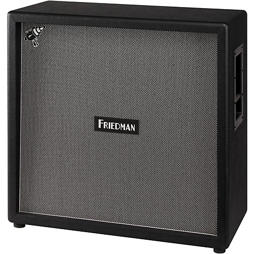 Friedman Steve Stevens Signature 4x12 Closed-Back Guitar Cabinet with Celestion Vintage 30's Black