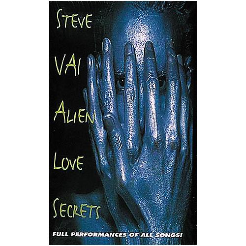 Hal Leonard Steve Vai - Alien Love Secrets (VHS)-thumbnail
