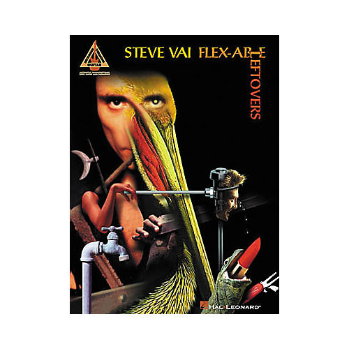 Hal Leonard Steve Vai Flex-Able Leftovers Guitar Tab Songbook