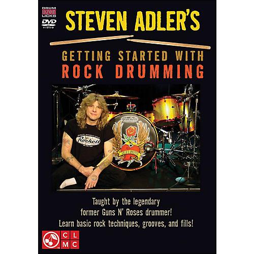Cherry Lane Steven Adler's Getting Started with Rock Drumming (DVD)-thumbnail