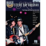 Hal Leonard Stevie Ray Vaughan - Bass Play-Along Vol. 51 (Book/CD)