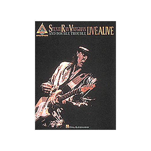 Hal Leonard Stevie Ray Vaughan Book Live Alive-thumbnail