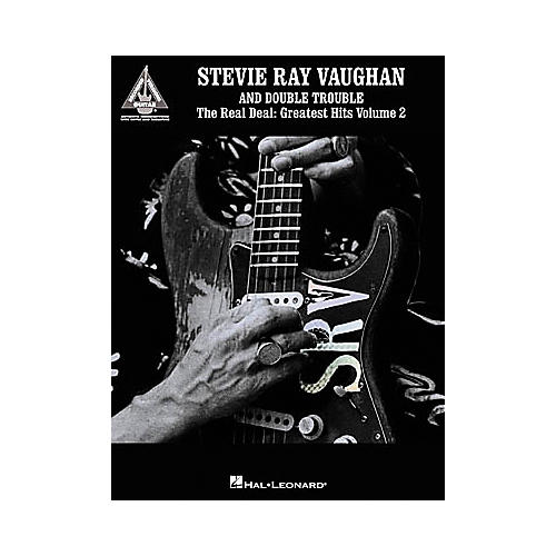 Hal Leonard Stevie Ray Vaughan & Double Trouble The Real Deal Greatest Hits Volume 2 Guitar Tab Book-thumbnail