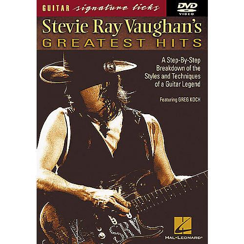 Hal Leonard Stevie Ray Vaughan's Greatest Hits DVD-thumbnail