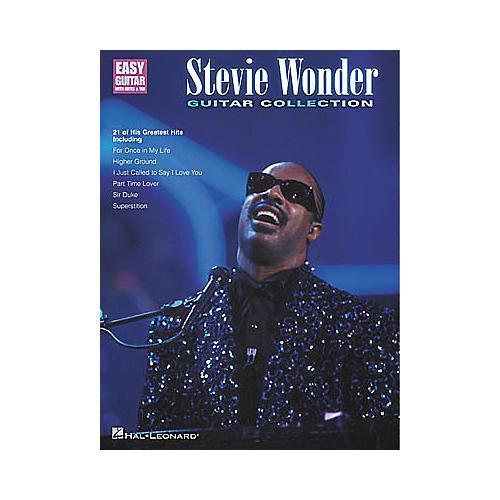 Hal Leonard Stevie Wonder Guitar Collection Easy Guitar Book-thumbnail