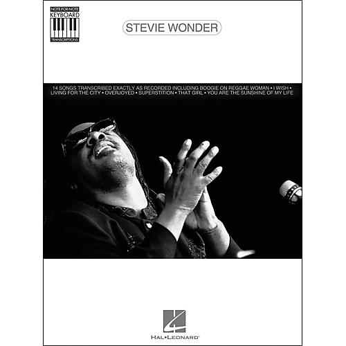 Hal Leonard Stevie Wonder Note for Note Keyboard Songbook-thumbnail