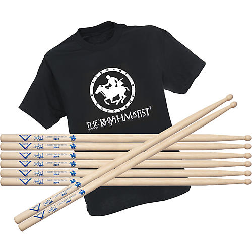 Vater Stewart Copeland Limited Edition Drumsticks Buy 4 Get Free T-Shirt