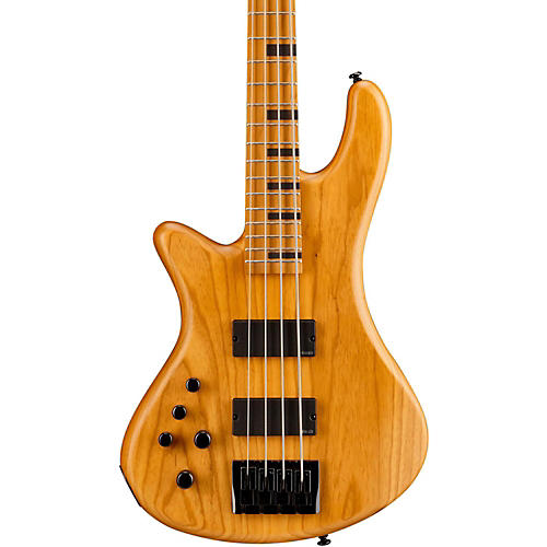 Schecter Guitar Research Stiletto-4 Session Left Handed Electric Bass Guitar