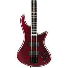 Stiletto Custom-4 Bass Satin Vampire Red