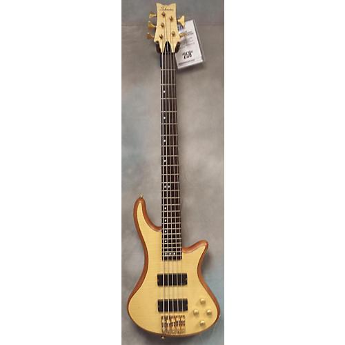 Schecter Guitar Research Stiletto Custom 5 String Electric Bass Guitar-thumbnail