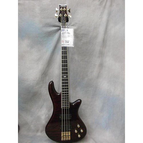 Schecter Guitar Research Stiletto Elite 4 String Electric Bass Guitar-thumbnail