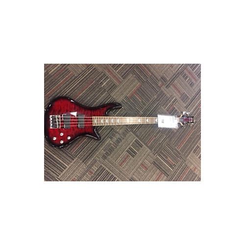 Schecter Guitar Research Stiletto Extreme 4 String Electric Bass Guitar-thumbnail