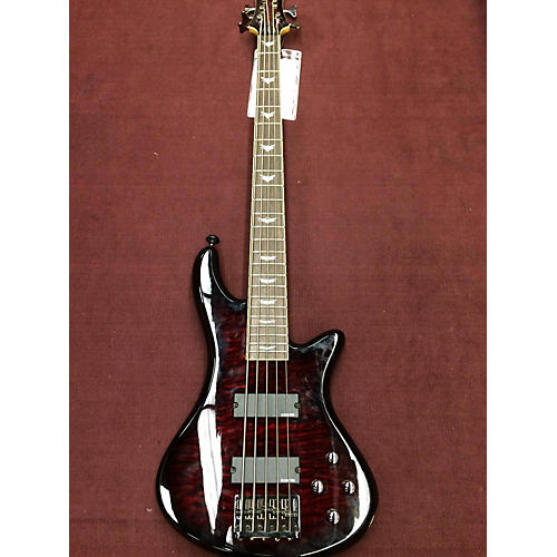 Schecter Guitar Research Stiletto Extreme 5 Electric Bass Guitar-thumbnail