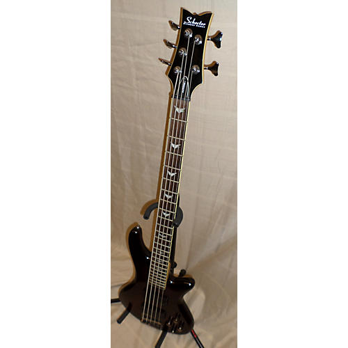 Schecter Guitar Research Stiletto Extreme 5 String Electric Bass Guitar-thumbnail