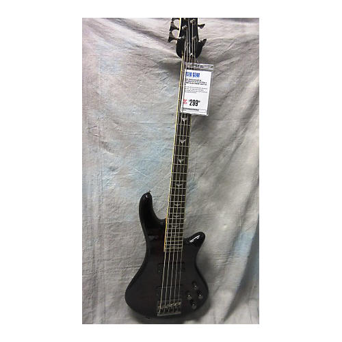Schecter Guitar Research Stiletto Extreme V String Electric Bass Guitar