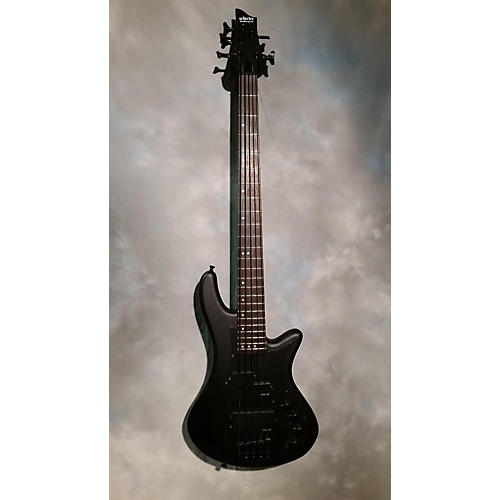 Schecter Guitar Research Stiletto Stealth-5 Electric Bass Guitar-thumbnail