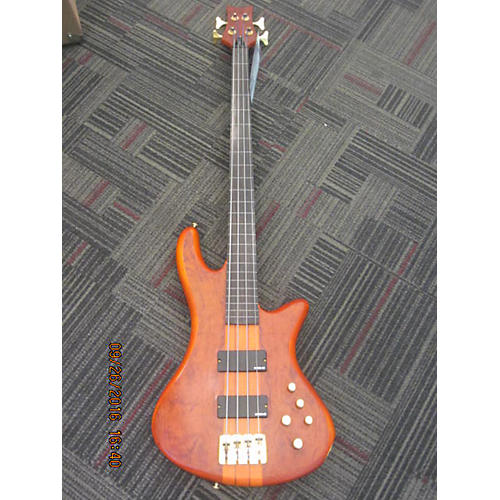 Schecter Guitar Research Stiletto Studio 4 String Fretless Electric Bass Guitar