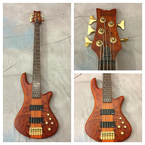 Schecter Guitar Research Stiletto Studio 5 String Electric Bass Guitar-thumbnail
